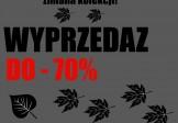 Zmiany kolekcji rabaty do 70%